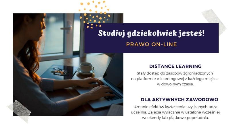 Prawo studia on-line